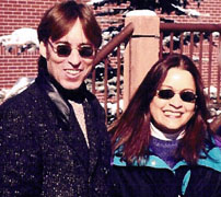 Anthony and Christina Adams